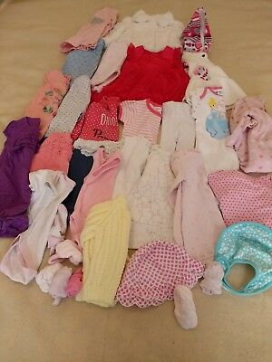 Baby Girls Clothes Bundle 0-3 Months. Next M&S Disney Mothercare.Great condition