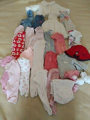 Baby Girl clothes Bundle 0-3 Months. Next M&S Disney Mothercare. Great condition