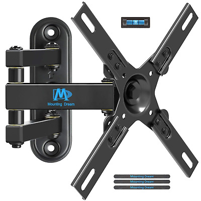 Mounting Dream MD2463-L TV Wall Mount Monitor Bracket with Full Motion Arm for