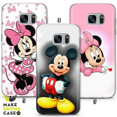 Disney Minnie Mickey Mouse Kid Case Cover Galaxy S10 S9 S8 S7 S6 A J Modell