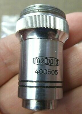 Vintage Microscope Objective Lens..Meopta Praha..microscope parts..(lot 2)