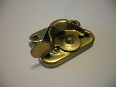 Vintage Style Window Locks Latches Brass Finish