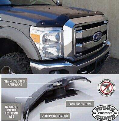 FormFit Smooth Tough Guard Hood Protector For 2017-2018 Ford F-250 F-350