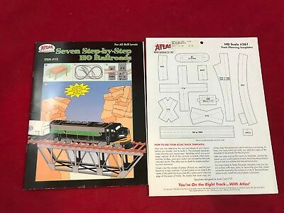 Marvelous Atlas 13 Book Seven Step By Step Ho Railroads Bench Wiring Wiring Cloud Hisonuggs Outletorg