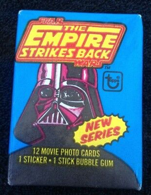 1980 Star Wars The Empire Strikes Back TOPPS Wax Pack Trading Cards (#51)