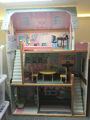 KidKraft Doll House large Child toy and furniture