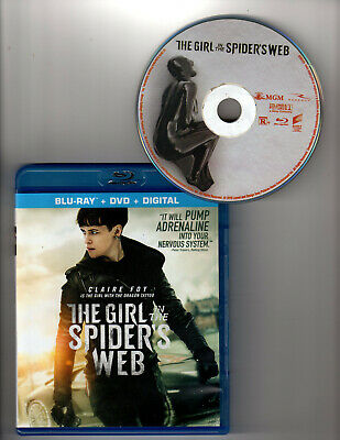 The Girl in the Spider's Web (Blu-ray 1 Disc, 2018)