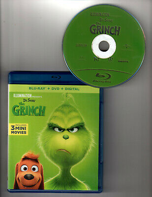 Dr. Seuss' The Grinch (Blu-ray 1 Disc, 2018)