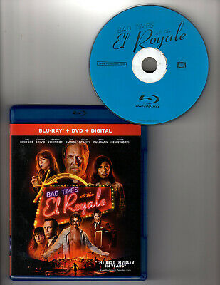 Bad Times At The El Royale (Blu-ray 1 Disc, 2019)