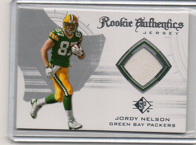 huge selection of 7ed3e 96ae0 2008 SP AUTHENTIC JORDY NELSON Rookie Authentics Jersey Card #RA-21 PACKERS
