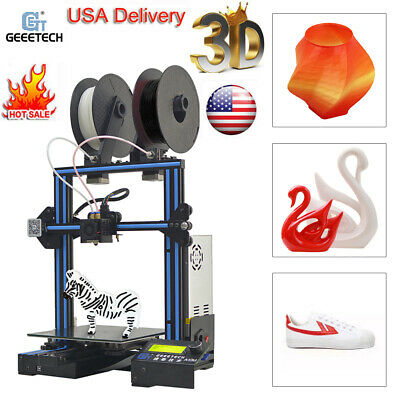 GEEETECH 3D PRINTER A10 Upgraded Resuming I3 Prusa 1 75mm Filament