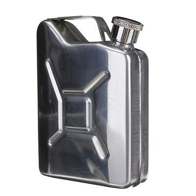 5oz Stainless Steel Jerry Can Hip Flask LiquorWhiskyPocket Bottle without FunneE