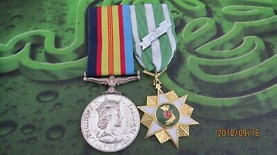 Australian Genuine Pair Of Vietnam Medals Unnamed