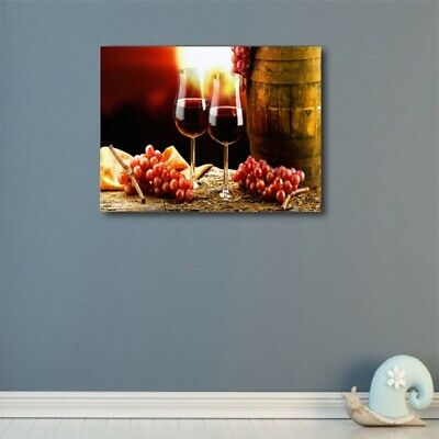 Glasses Of Wine HD Print Oil Wall Painting Canvas Art Picture Modern Home Decor