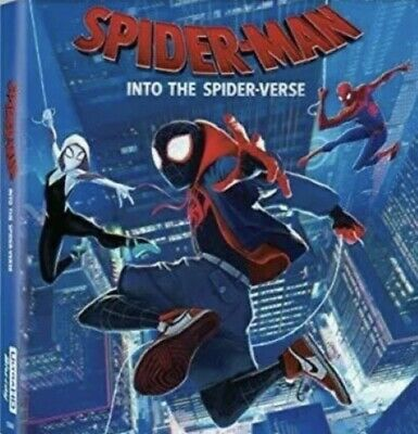 Spider Man Into the Spider-Verse (DVD 2018 2019) NEW FREE FAST SHIPPING 🚀