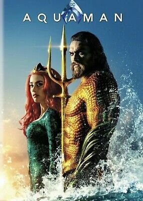 Aquaman (DVD,2018) NEW- PRE-SALE SHIPS ON 03/26/19