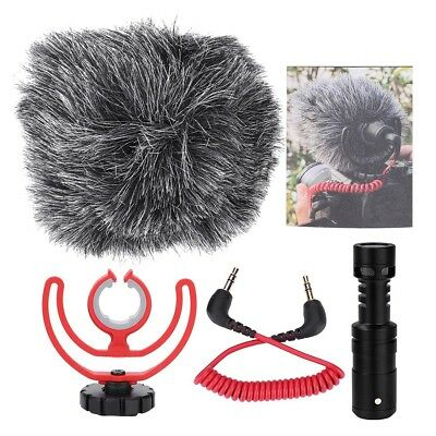 RODE Video Micro On-Camera Microphone for Canon Nikon Lumix Sony 100Hz-20kHz CHW