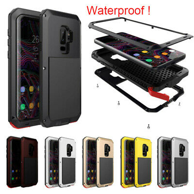 Waterproof Shockproof Armour Heavy Duty Case Cover Fr Samsung Note 9/8 S8/9 Plus