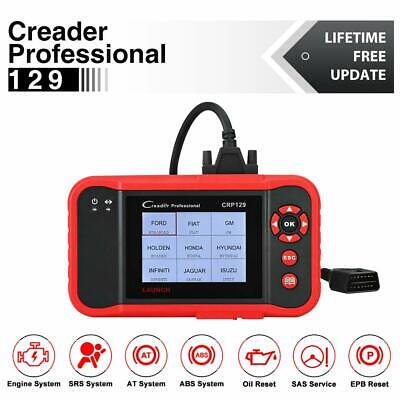 Launch X431 CRP129 OBD2 Auto Diagnostic Scanner Tool ABS SRS Engine AT System CA
