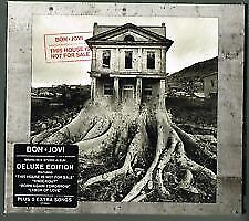 BON JOVI This House Is Not For Sale (Deluxe Edition) CD NEW sealed = free post