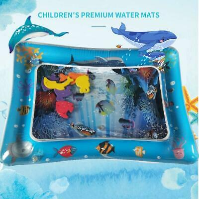 Baby Kids Water Play Mat Inflatable For Infants Toddlers Fun Tummy Time SeaWorld