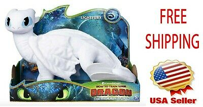 "Dreamworks How To Train Your Dragon Lightfury 14"" inch Deluxe Plush"