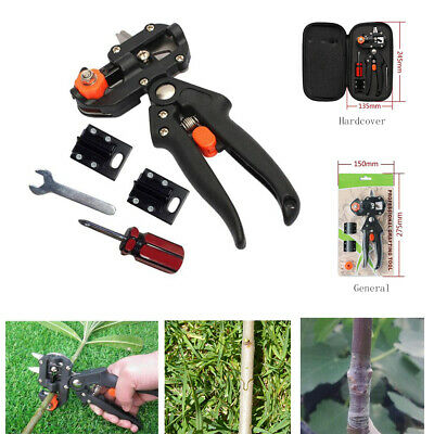 Garden Nursery Fruit Tree Grafting Pruning Shears Secateurs Vaccination Tool Set