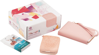 NEW HP 1AS97A Sprocket 200 Limited Edition Gift Box Blush
