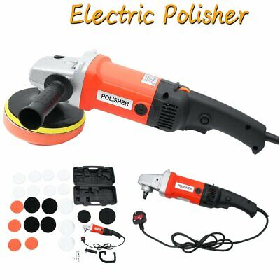 DUAL ACTION ECCENTRIC EXCENTRIC ROTATION  ELECTRIC CAR POLISHER SANDER + Set UK