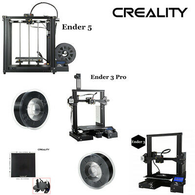 Creality 3D Ender 3 Ender 5 Ender 3 Pro 3D Printer 220x220x250mm Removable Bed