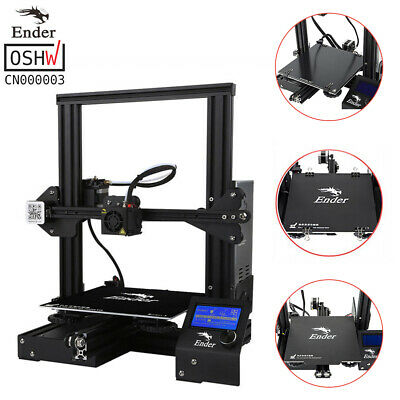 Creality Ender 3 Ender 3 Pro Removable Bed Plate 3D Printer 220x220x250mm DC 24V