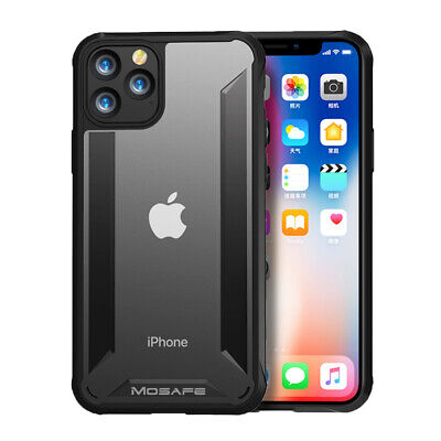 For iPhone XS Max XR X Clear Case Hybrid Ultra Slim Shockproof Protective Cover
