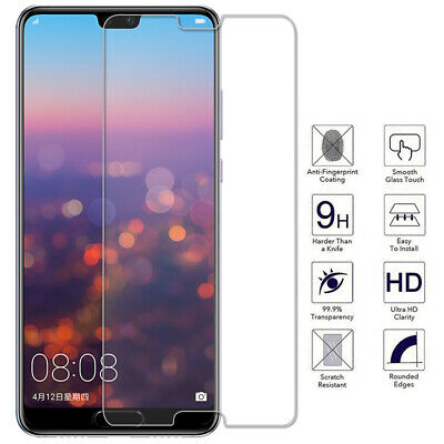 3X Premium Tempered Glass Film Screen Protector for Huawei P20 Pro Lite Mate 20