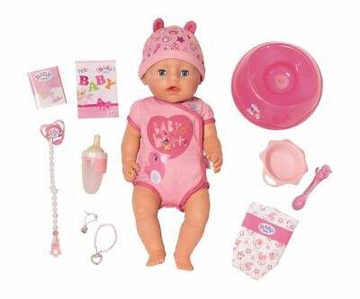 Baby Born Doll Soft Touch Girl Blue Eyes Zapf Creation 824368