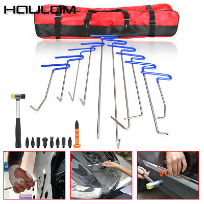 10× Push Rods Dent Puller Lifter Paintless Hail Removal Repair B Tools AU