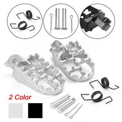 Motocross Pit Dirt Bike Foot Pegs Pedal For Yamaha PW50 PW80 TW200 Honda XR/CRF