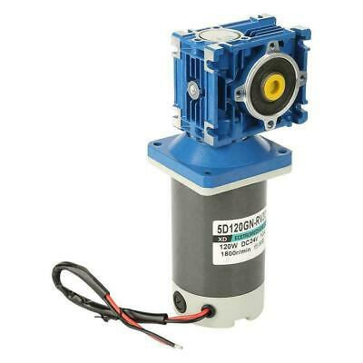 5D120GN-RV40 120W Getriebemotor Schneckengetriebemotor DC24V CW//CCW Self-Locking