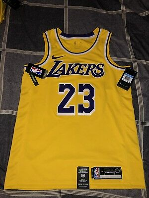 reputable site a4638 acccc LEBRON JAMES ICON Edition Swingman Jersey (Lakers) Size Medium 100%  Authentic