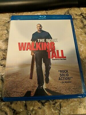 WALKING TALL (Blu-Ray Disc, 2010)