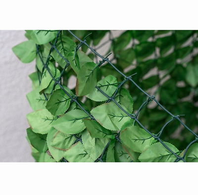 Artificial Birch Leaf Screening Walls and Fences Decoration Outdoor