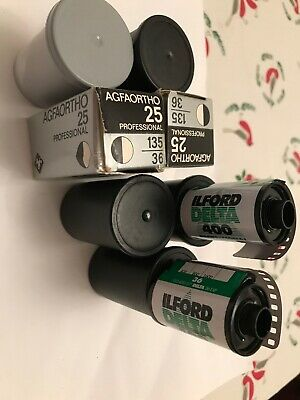 A selection of unused, but expired Black &White 35mm 7 Available