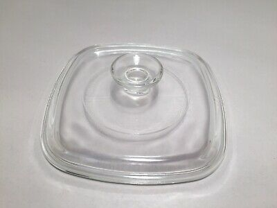 PYREX Glass Replacement Lid A-7-C for 1 and 1.5 Qt Corning Ware Dishes