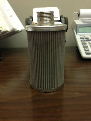 """Flow Ezy Filters Suction Sump Strainer 10-1N-100 10GPM 100 MESH 1"""" NIPPLE"""