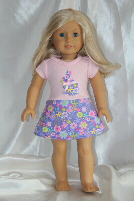 Doll Clothes fits 18inch American Girl Doll Dress Bunny