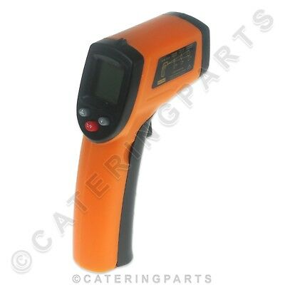 Catering Engineers Infrared Laser Digital Temperature Thermometer For Fryer Oven