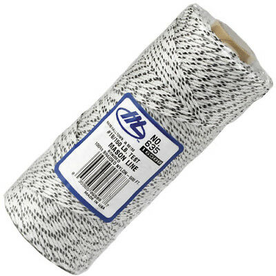 Marshalltown 16588/635 White Flecked 500ft/152m Braided Bricklayers Line