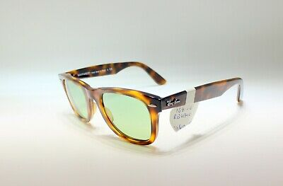98e5c1ada69 RAY-BAN WAYFARER EASE Sunglasses RB4340 710 4W 50 Tortoise Orange ...