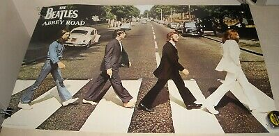 ROLLED 2002 Funky Posters # 9069 BEATLES - ABBEY ROAD CLASSIC PHOTO PINUP POSTER