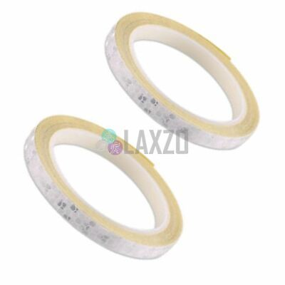 8M Reflective Safety Warning Tape Car Motorcycle Bike Sticker Glow Green 2 Pcs Bicycle Stickers & Decals