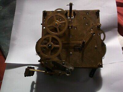 8 Hammer 4X4 Mechanism  From An Old  Mantle Clock Whittington/Westminster Chime
